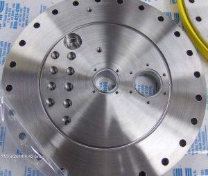 plasma coater flange inside